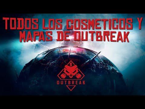 TODOS LOS COSMETICOS Y MAPAS DE OUTBREAK | RAINBOW SIX SIEGE OPERATION CHIMERA TTS