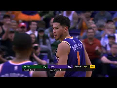 Phoenix Suns vs Milwaukee Bucks | March 8, 2020