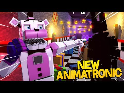 New Animatronic In Sister Location!- Minecraft FNAF Roleplay