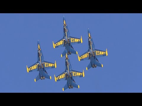 2018 Blue Angels! NAF El Centro Air Show Preview