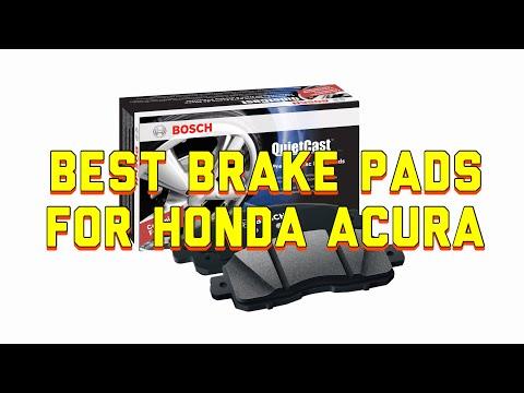 Best Brake Pads for Honda Acura Pilot Odyssey Accord Ridgeline - Bosch QuietCast Brake Pads Review