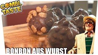 Bonbon aus Wurst - die einzig wahre Wurstpraline 🍬🥩 Combi & Taste #CaT