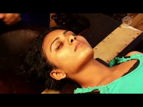 Ayurvedic Indian Massage -Nasyam - Learn Massage