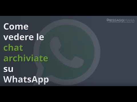 Recupero Chat Whatsapp Eliminate su Android