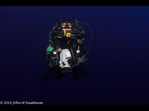 Technical Rebreather Trimix Diving 265 feet Deep Shipwreck in Florida