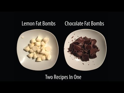 Two Fat Bomb Recipes! Quick Simple. All The Fat.