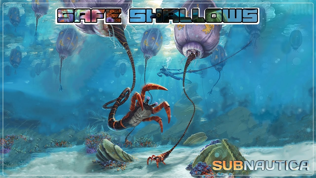 Subnautica All You Need To Know About The Safe Shallows Youtube