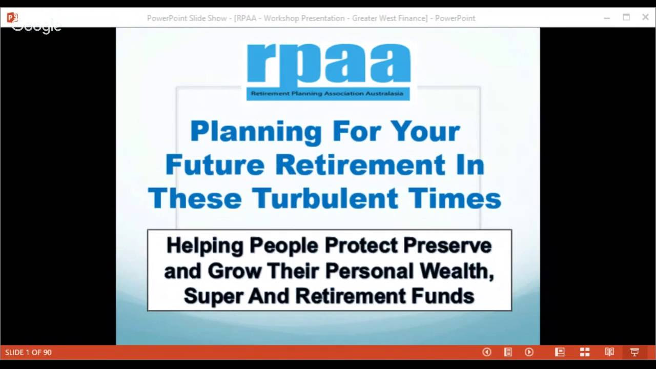 the retirement planning association youtube gaming