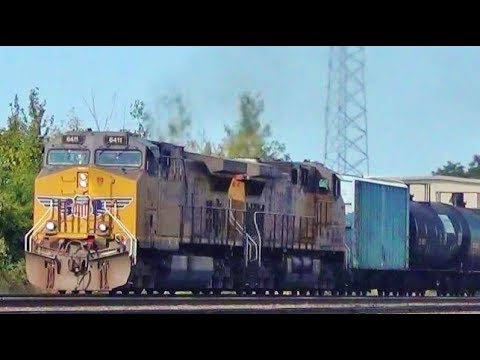 Union Pacific Ethanol Tanker Train