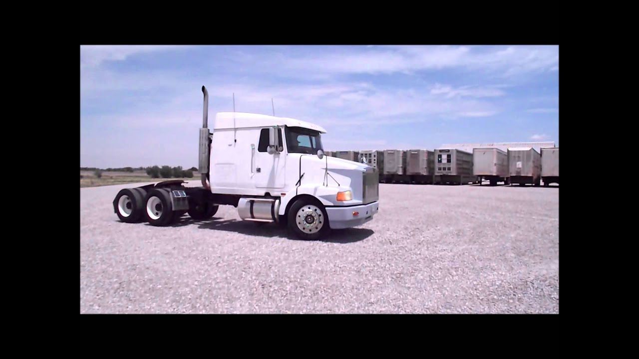 1988 Volvo WIA semi truck for sale | sold at auction July 22, 2014 - YouTube
