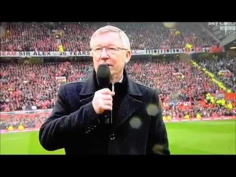 L'addio di Sir Alex Ferguson