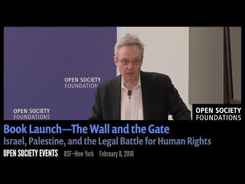Book Launch—The Wall and the Gate: Israel, Palestine, and the Legal Battle for Human Rights