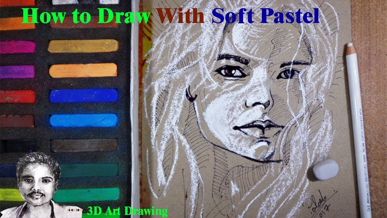 How to draw girl face with soft pastel abstract art painting how to draw girl face with soft pastel abstract art painting ccuart Images