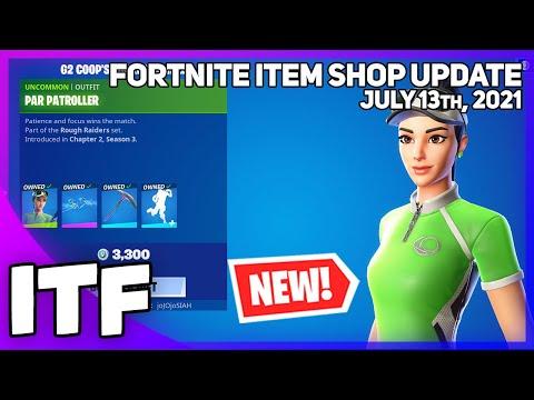 Fortnite Item Shop *NEW* G2 COOP LOCKER BUNDLE! [July 13th, 2021] (Fortnite Battle Royale)