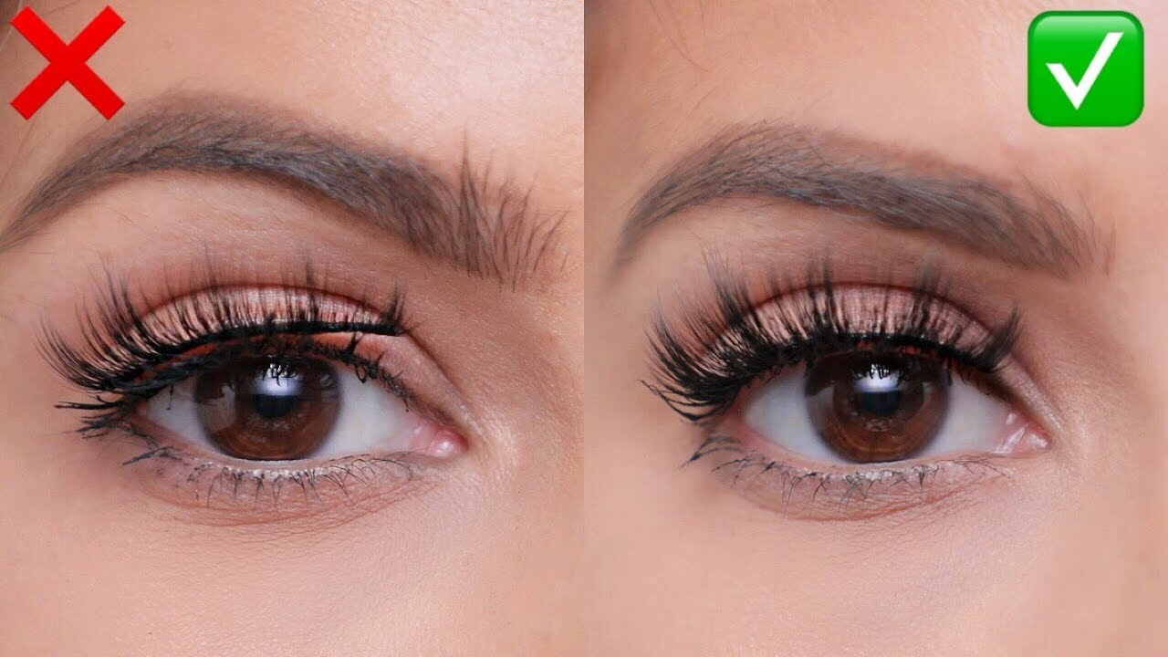 d0a61698643 FALSE LASHES: Do's and Don'ts | For Beginners! - YouTube