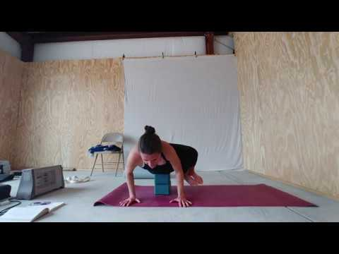 parsva bakasana side crow with blocks  youtube
