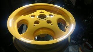 ЯН;) Реставрация и покраска литых дисков(, 2013-04-01T01:20:10.000Z)