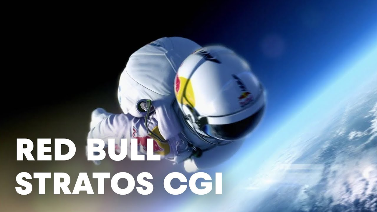 Red Bull Tv >> Red Bull Stratos CGI - The Official Findings - YouTube
