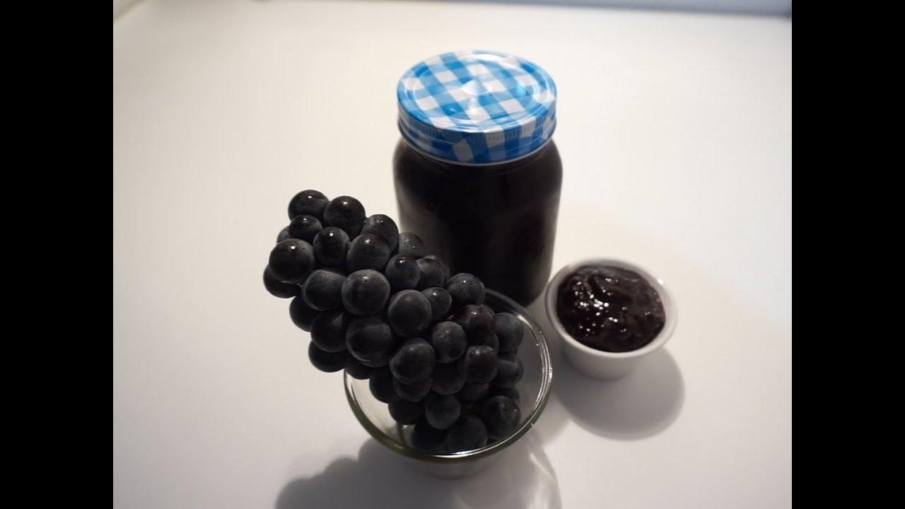 The Best Grape Jam Recipe By Crazy