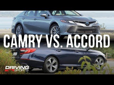 2018 Honda Accord vs 2019 Toyota Camry - The Shootout