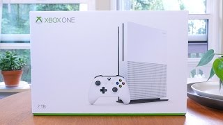 Xbox One S Unboxing, Setup and Impressions