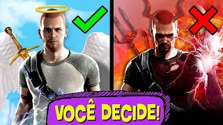 6 Decisões mais DIFÍCEIS dos GAMES! 👍 ➡ 👎