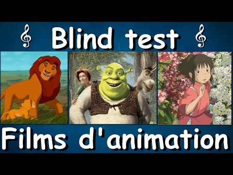 BLIND TEST - FILMS D'ANIMATION (DISNEY, PIXAR, GHIBLI, DREAMWORKS...) - 50 EXTRAITS