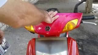 süper motorsiklet far temizleme 1