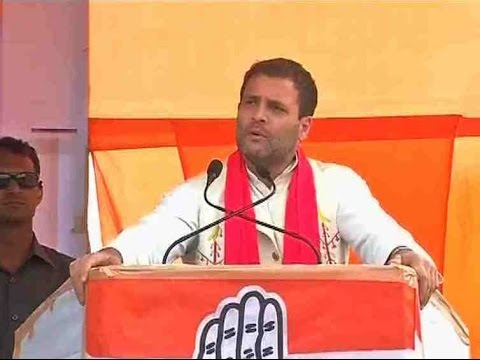 FULL SPEECH: Congress vice president Rahul Gandhi speaking at a rally in Diphu, Assam