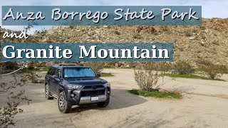 Anza Borrego and Taking On Granite Mountain