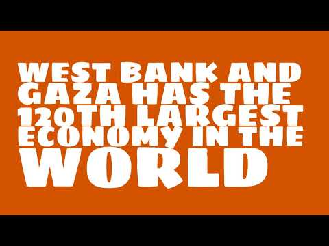 How big is the economy of West Bank and Gaza?