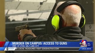 Murder on Campus: How can a felon get a gun?