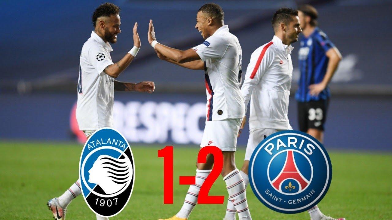 🏆Atalanta 1-2 Paris   Le PSG Miraculé, Neymar Masterclass !