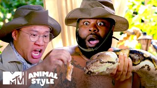 Bird Showers & A 350-Pound Python | MTV's Animal Style
