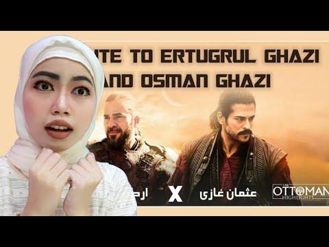 Tribute To Ertugrul And Osman | Indonesian Reaction | Ye Ghazi Ye Tere Purisrar Bande