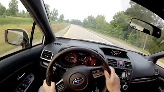 2015 Subaru WRX Sedan - WR TV POV Test Drive