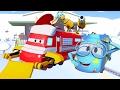 Поезд Трой и Снежная машина в Автомобильный Город |Мультфильм для детей