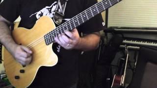 Download Yngwie J Malmsteen style Nylon String Guitar (YAMAHA AEX-500NS)