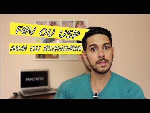 Papo Reto #04: USP Ou FGV?   ADM Ou Economia? Mestrado Ou MBA?