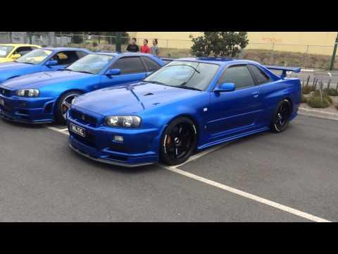Nissan Skyline GTR Meet Australia
