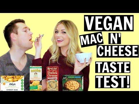 Vegan MAC N' CHEESE Taste Test!