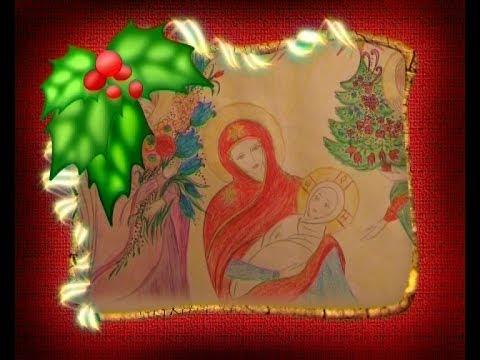Рождество Христово в детских рисунках