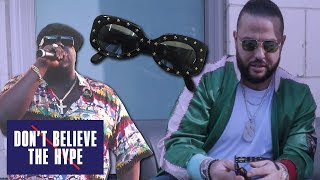 Supreme B.I.G. Sunglasses Feat. Belly: Don