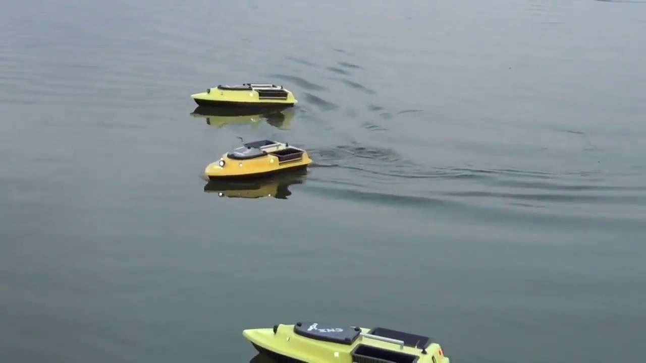 Кораблик для рыбалки. Фотки - YouTube