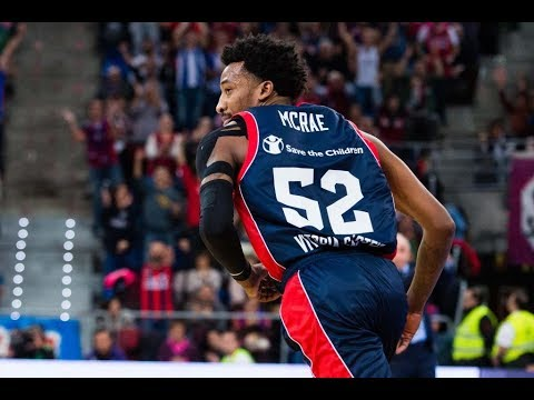 JORDAN MCRAE * HIGHLIGHTS 2017 SEASON * BASKONIA