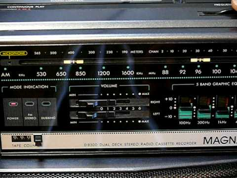 Magnavox D8300 Boombox