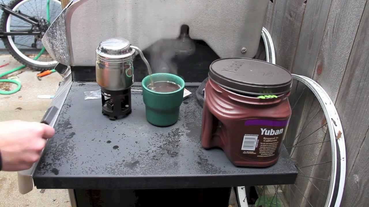 ESBIT COFFEE MAKER (Second Review) - YouTube