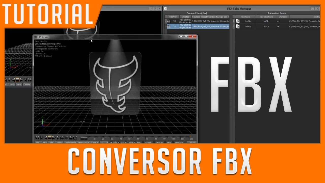 Converter Modelos para FBX (FBX CONVERTER) Gratis