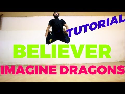Believer - Imagine Dragons   Dance Tutorial   step by step choreography  