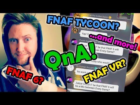 | FNAF 6? FNAF VR? FNAF TYCOON GAME? + QnA! | Amino Voice Chat